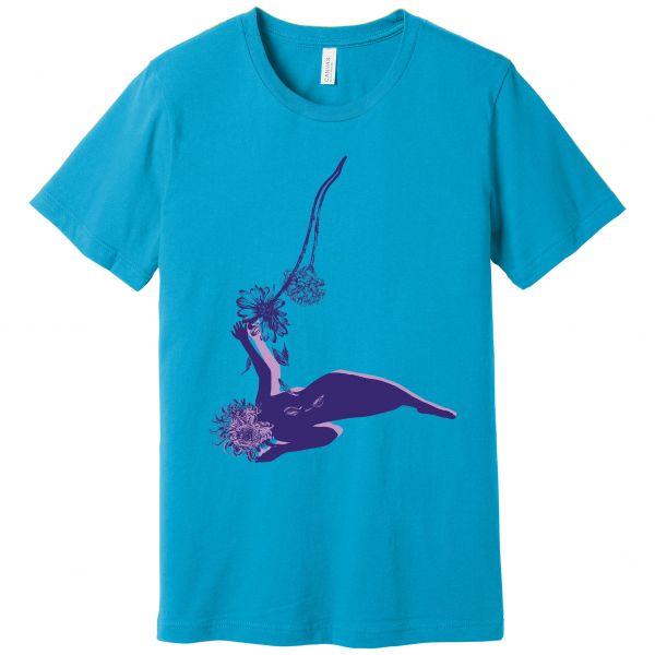 Purple Print Far Field T-shirt
