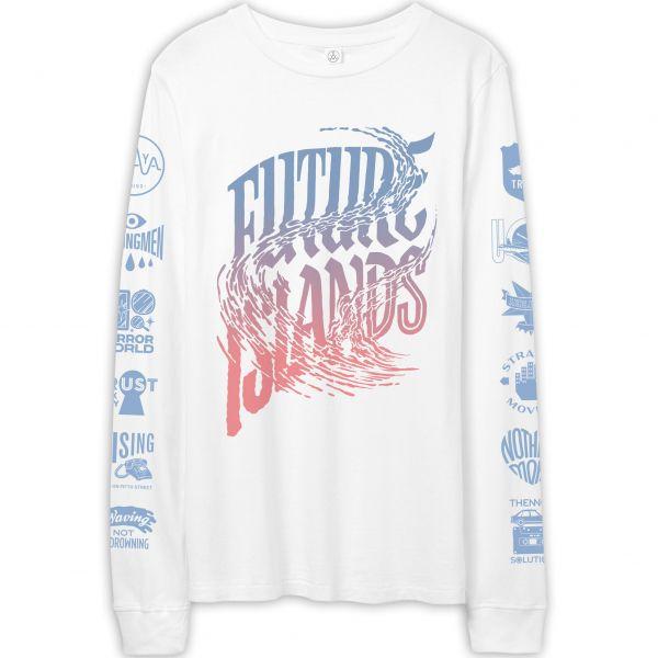 ALAYA White L/S T-shirt