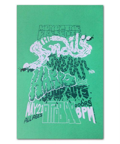 FI/The Snails Ottobar // GREEN // 5.21.16